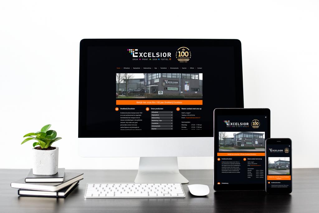 Excelsior website responsive